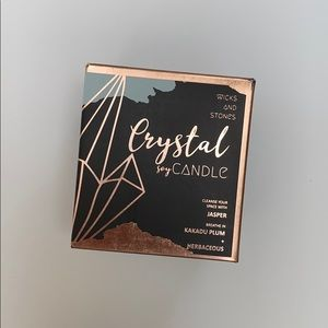 ANTHROPOLOGIE Crystal Candle   NEW IN BOX